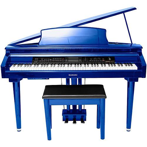 Open Box Suzuki MDG-300 Cobalt Blue Micro Grand Digital Piano