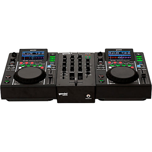 Open Box Gemini MDJ-500 Performance Pack with Mixer, Mic and Headphones