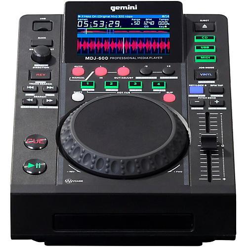 Open Box Gemini MDJ-600 Professional DJ USB CD CDJ Media Player