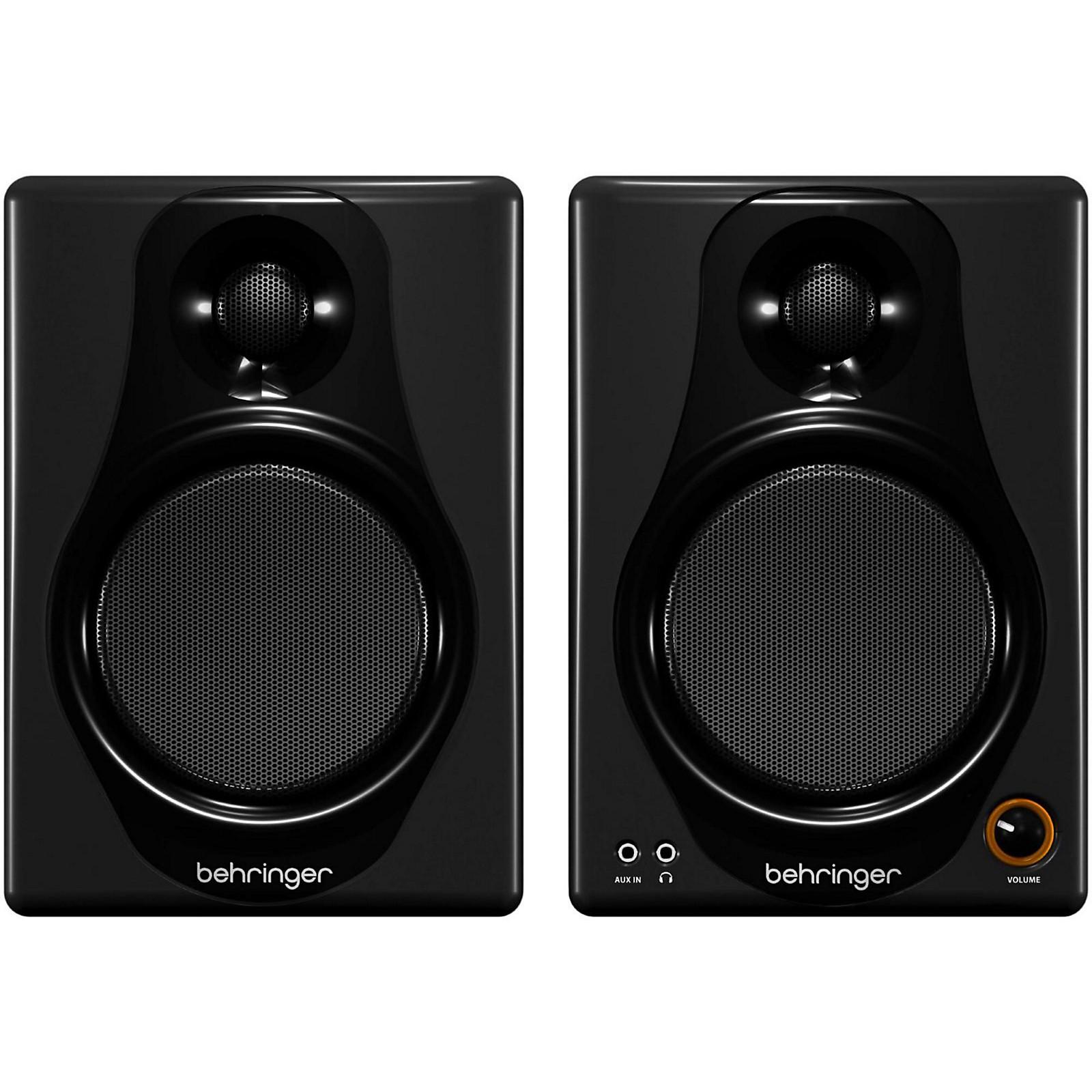 Open Box Behringer MEDIA 40USB High-Resolution,150-Watt Bi-Amped Digital Monitor Speakers with USB Input