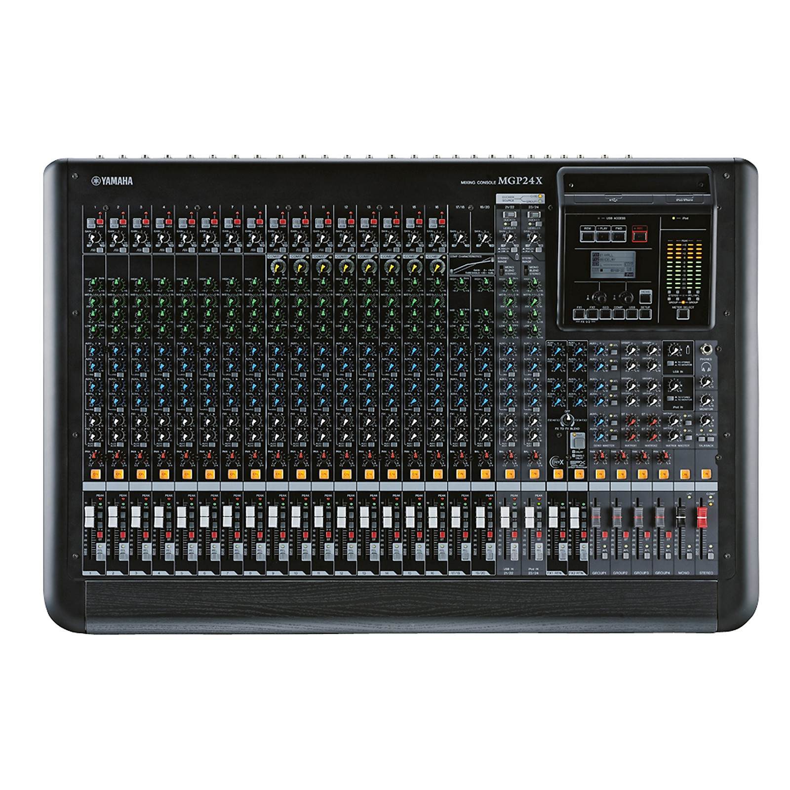 Open Box Yamaha MGP24X 24-Input Hybrid Digital/Analog Mixer with USB Rec/Play and Effects