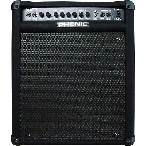 Open Box Phonic MK50 Keyboard Amplifier