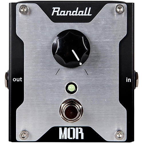 Open Box Randall MOR Boost Guitar Effects Pedal