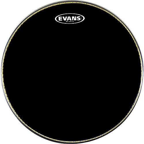 open box evans mx1 marching bass drum head black 24 in musician 39 s friend. Black Bedroom Furniture Sets. Home Design Ideas