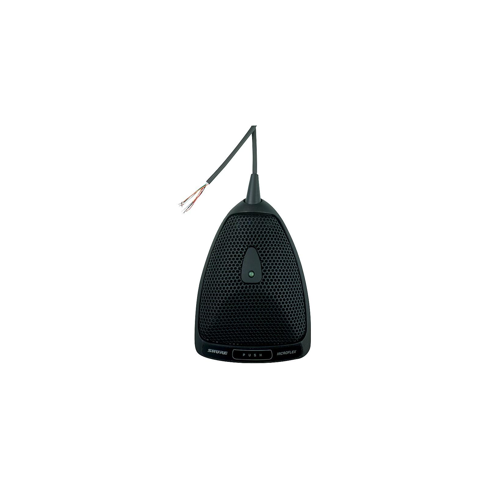 Open Box Shure MX392/S Microflex Boundary Microphone
