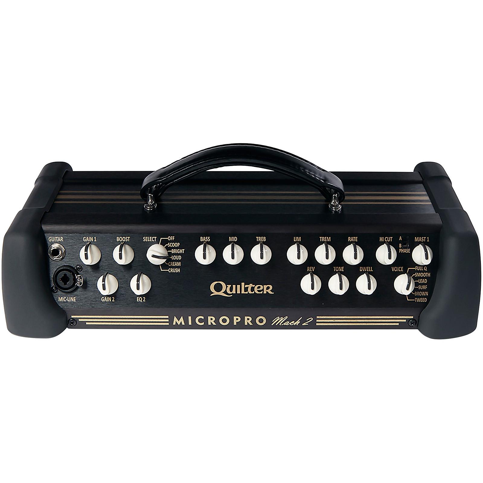 Open Box Quilter Labs Mach2-HEAD MicroPro Guitar Amplifier Head