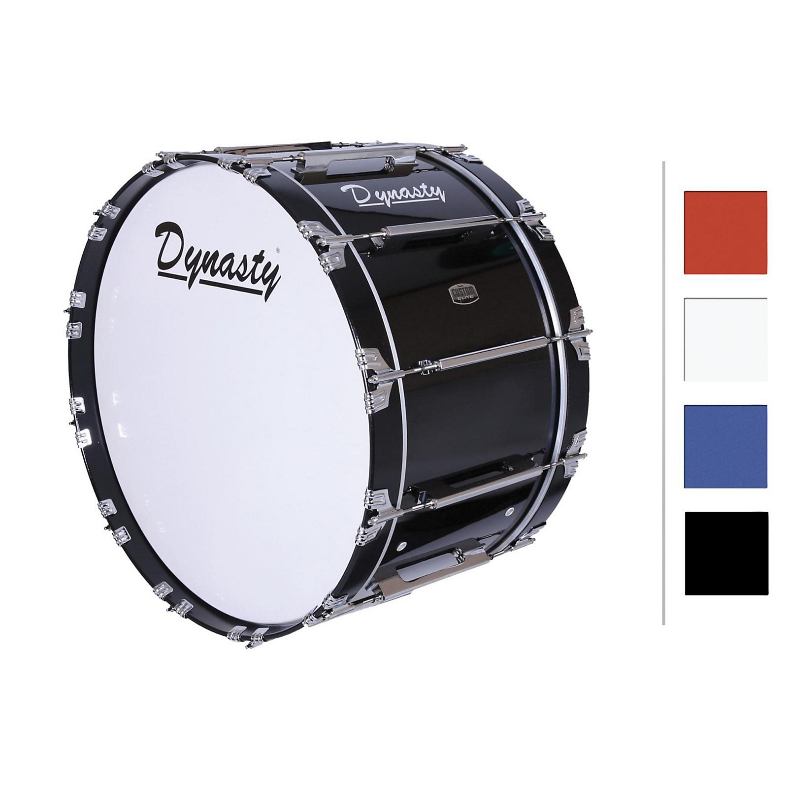 Open Box Dynasty Marching Bass Drum 18