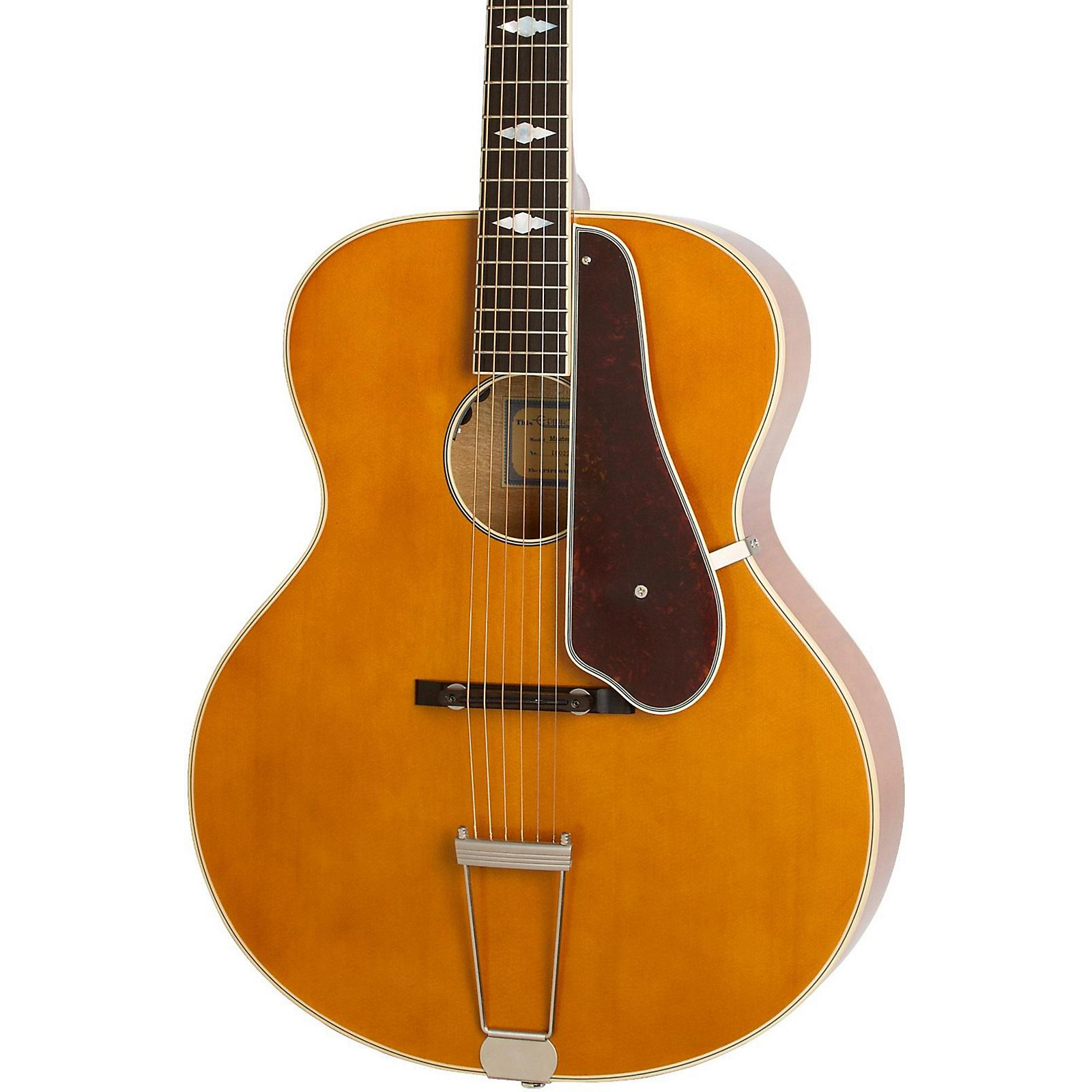 Open Box Epiphone Masterbilt Century Collection De Luxe Archtop Acoustic-Electric Guitar