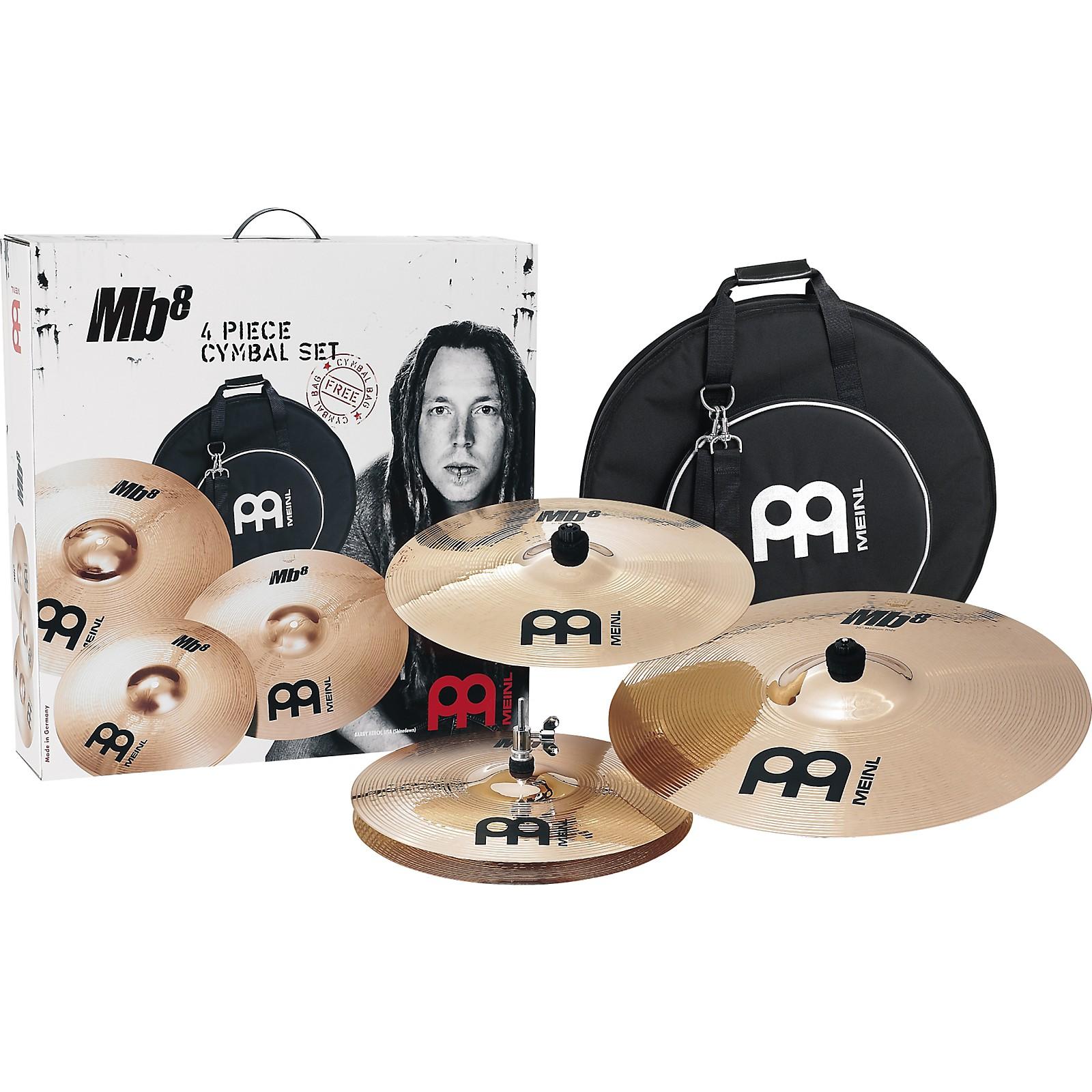 Open Box Meinl Mb8 Rock Cymbal Set