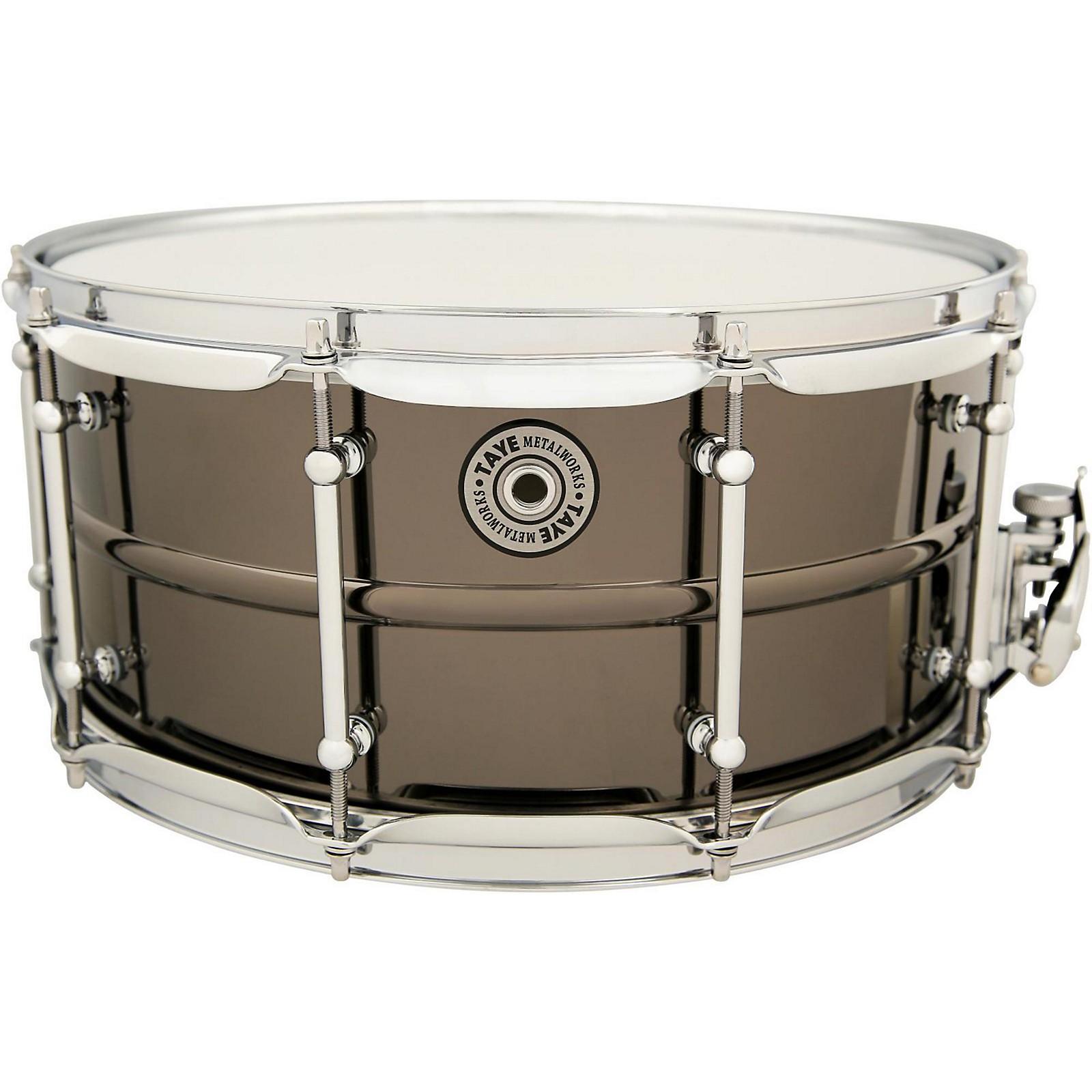Open Box Taye Drums Metalworks Vintage Brass Snare