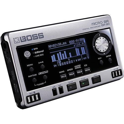 Open Box Boss Micro BR BR-80 Digital Recorder
