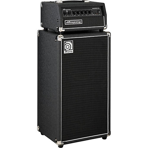 Open Box Ampeg Micro-CL 100W 2x10 Mini Bass Stack Black