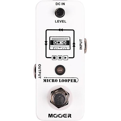 Open Box Mooer Micro Looper Effects Pedal
