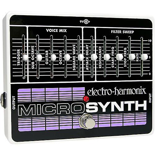Open Box Electro-Harmonix MicroSynth XO Guitar Effects Pedal