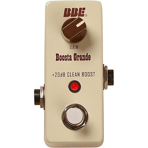 Open Box BBE Mini Boosta Grande Clean Boost Pedal