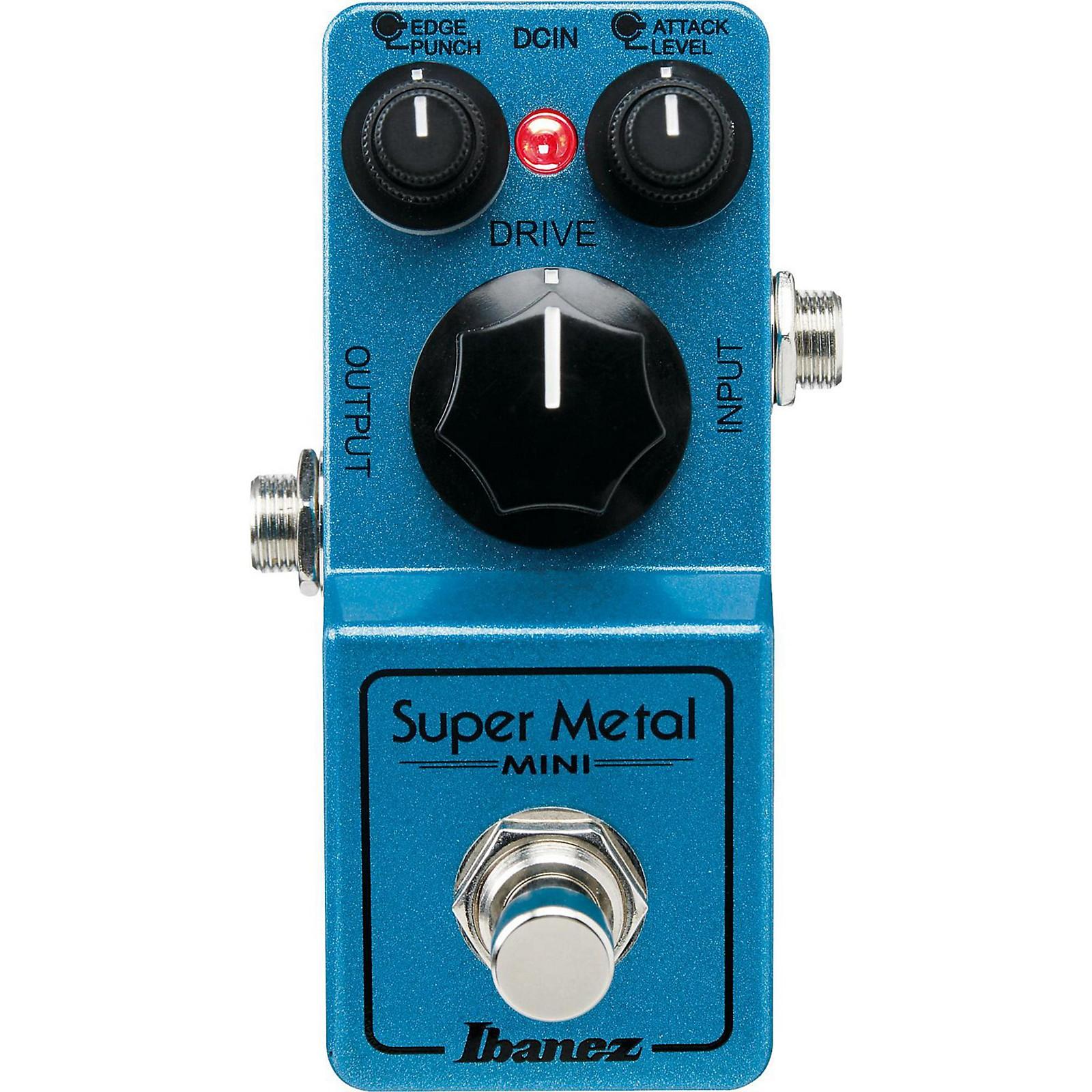 Open Box Ibanez Mini Super Metal Guitar Pedal