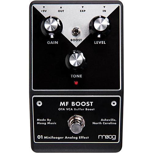 Open Box Moog Minifooger Boost Guitar Effects Pedal