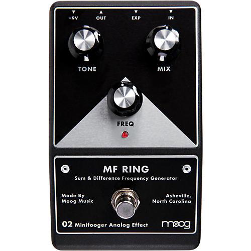 Open Box Moog Minifooger Ring Guitar Effects Pedal