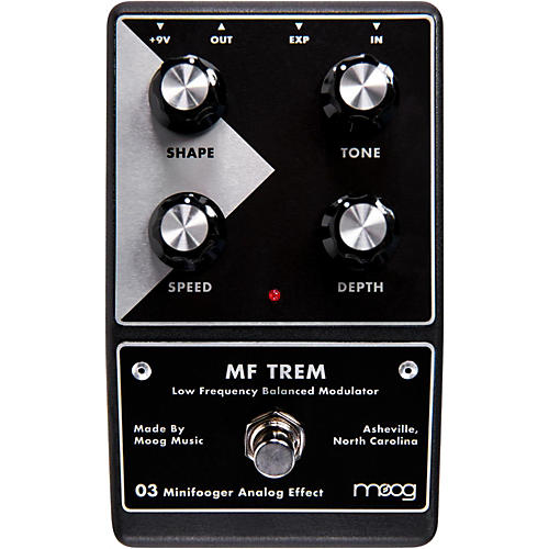 Open Box Moog Minifooger Trem Guitar Effects Pedal
