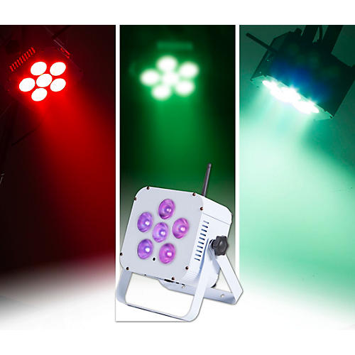 Open Box ColorKey MobilePar Hex 6 Cordless and Wireless RGBAW+UV LED PAR Wash Light