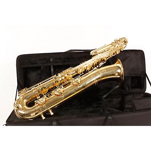 Open Box International Woodwind Model 661 Bass Saxophone