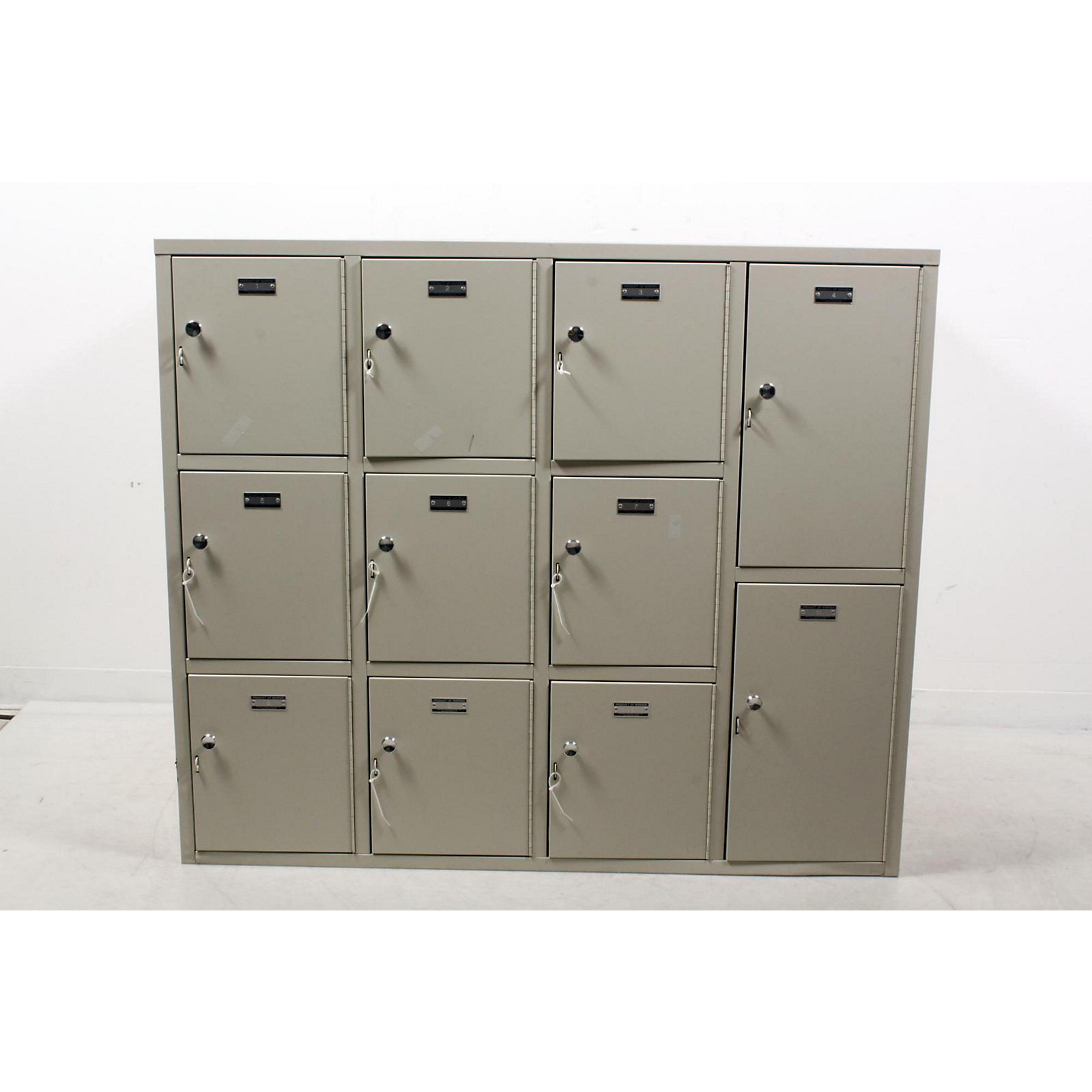 Open Box Norren Modular Instrument Cabinets in Ivory