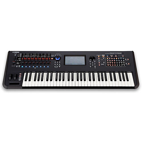 Open Box Yamaha Montage 6 61-Key Flagship Synthesizer