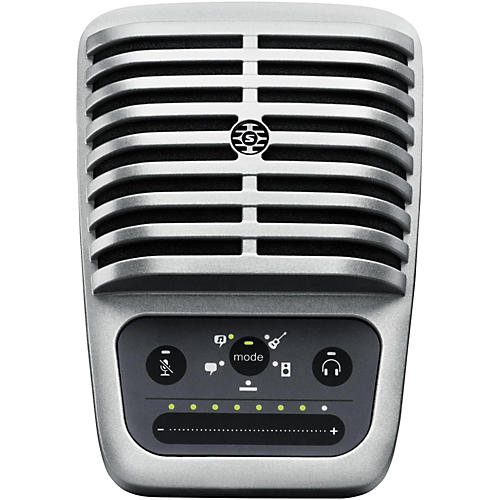 Open Box Shure Motiv MV51 Digital Large-Diaphragm Condenser Microphone with USB and Lightning Cables Included