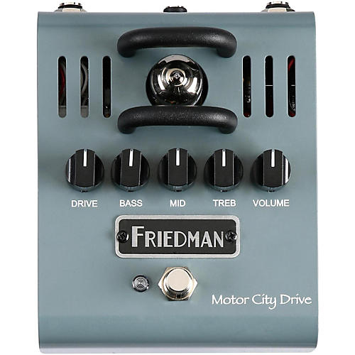 Open Box Friedman Motor City Drive 12AX7 Tube Overdrive Pedal