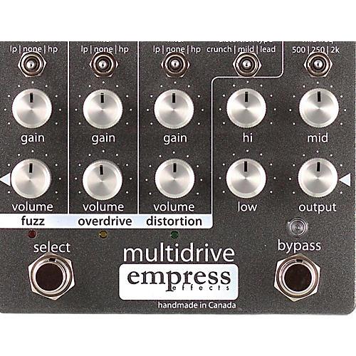 Open Box Empress Effects Multidrive Overdrive Guitar Effects Pedal