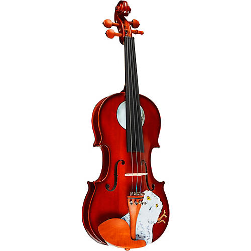 Open Box Rozanna's Violins Mystic Owl Series Violin Outfit