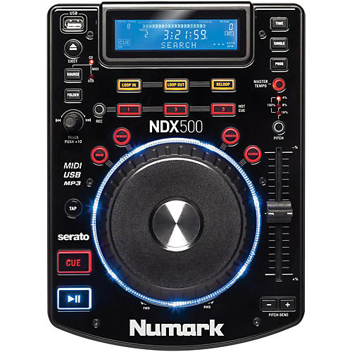 Open Box Numark NDX500 USB/CD Media Player and Software Controller