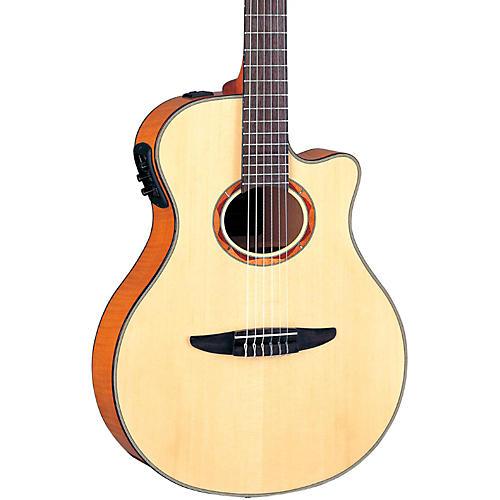 Open Box Yamaha NTX900FM Acoustic-Electric Classical Guitar