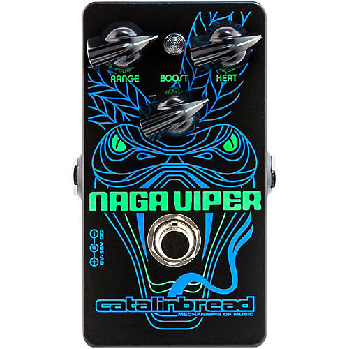 Open Box Catalinbread Naga Viper (Treble Boost) Guitar Effects Pedal