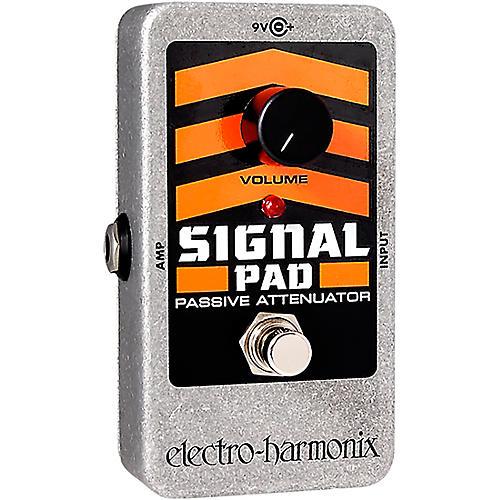 Open Box Electro-Harmonix Nano Signal Pad Attenuator Guitar Effects Pedal