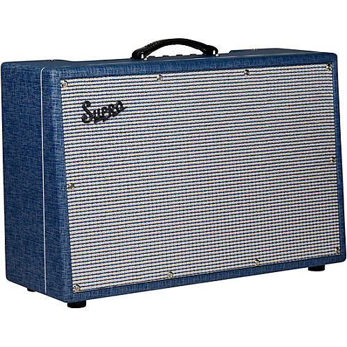 Open Box Supro Neptune Reverb 25W 2x12 Tube Guitar Combo Amplifier