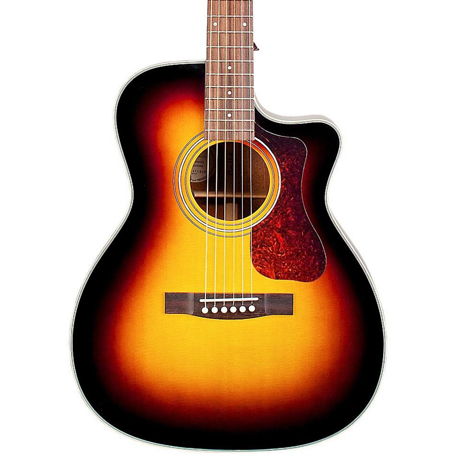 Open Box Guild OM-140CE Acoustic-Electric Guitar