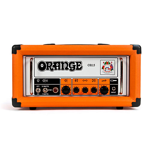 Open Box Orange Amplifiers OR Series OR15H 15W Compact Tube Guitar Amp Head