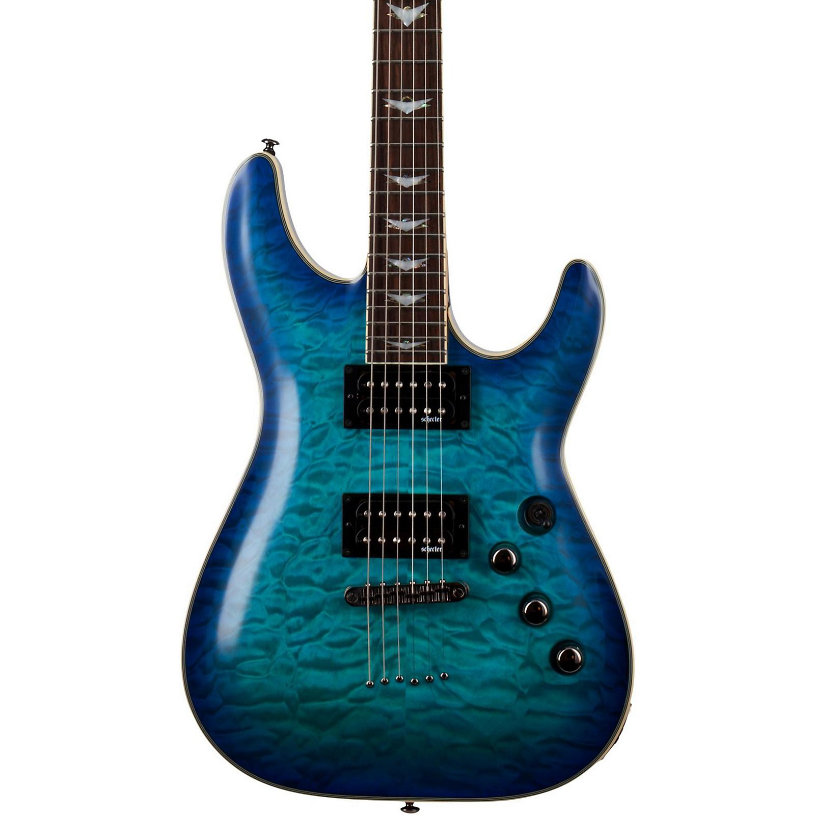 Open Box Schecter Guitar Research Omen Extreme-6 Electric Guitar