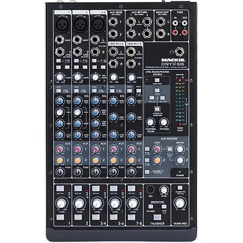 Open Box Mackie Onyx 820i Firewire Mixer