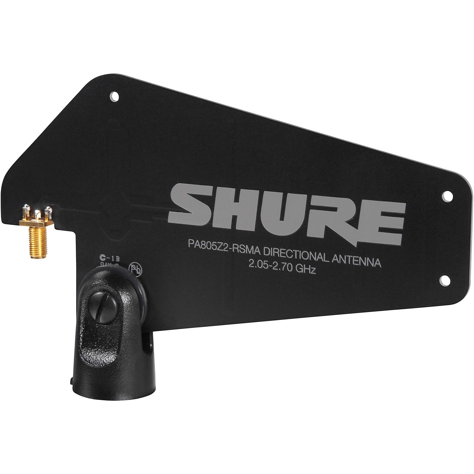 Open Box Shure PA805-RSMA Passive Directional Wireless Antenna for GLX-D Advanced Digital Wireless Systems
