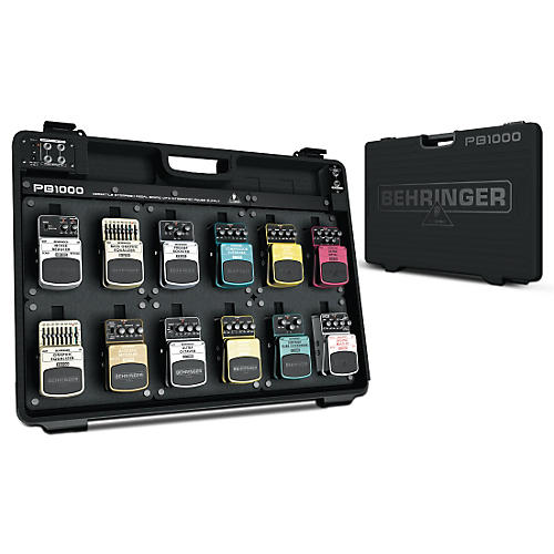 Open Box Behringer PB1000 Powered Pedal Board