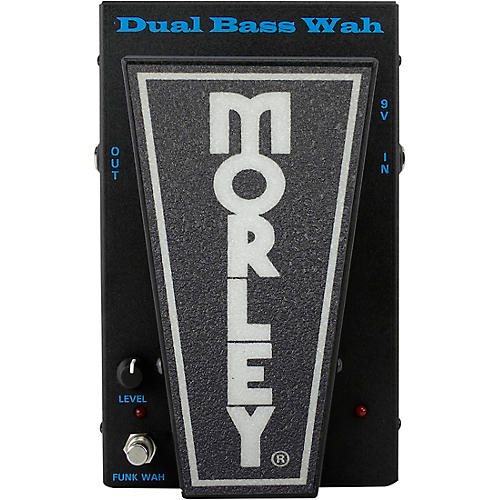 Open Box Morley PBA-2 Dual Bass Wah Pedal