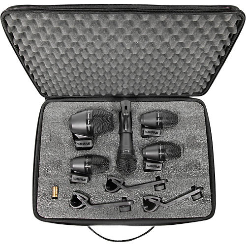 Open Box Shure PGADRUMKIT5 5-Piece Drum Microphone Kit