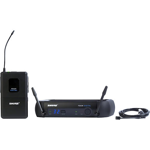 Open Box Shure PGXD14/93 Digital Wireless System with WL93 Lavalier Mic