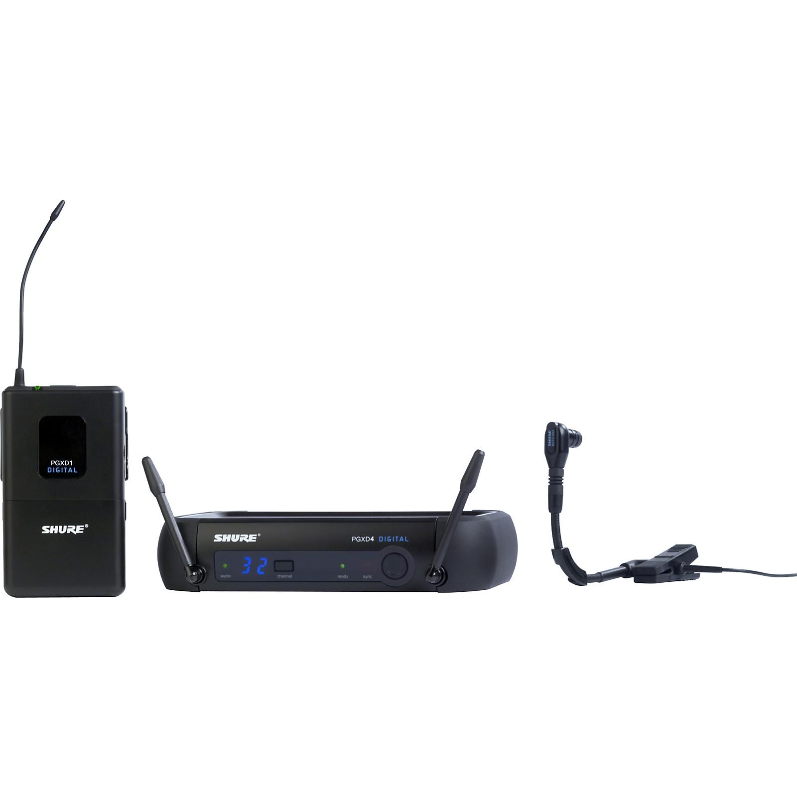 Open Box Shure PGXD14/BETA98H Digital Wireless System with Beta 98H/C Mic