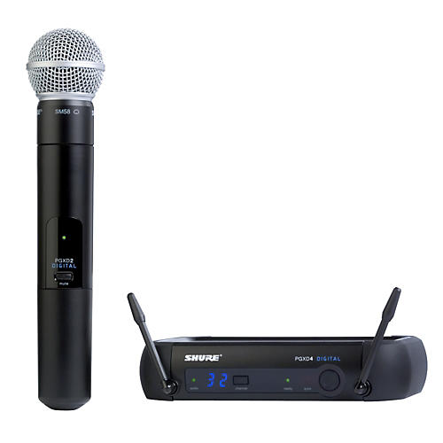 Open Box Shure PGXD24/SM58 Digital Wireless System with SM58 Mic