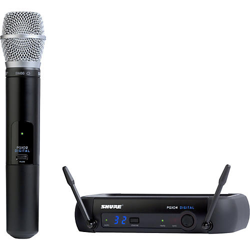 Open Box Shure PGXD24/SM86 Digital Wireless System with SM86 Mic