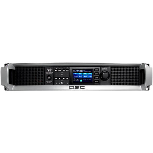 Open Box QSC PLD4.5 Multi-Channel System Processing Amplifier