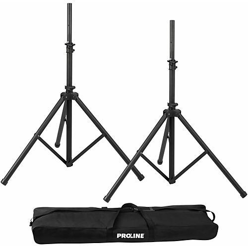 Open Box Proline PLSPK2 Speaker Stand Set w/ Bag